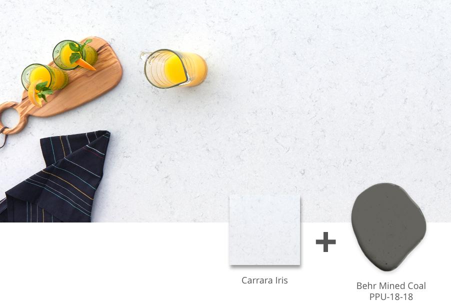 Carrara Iris Shade