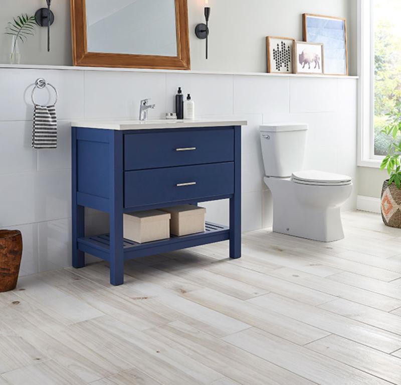 porcelain wook look floor tile