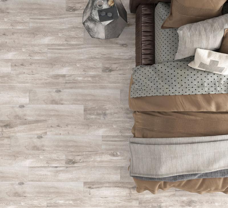 wood look porcelain plank flooring