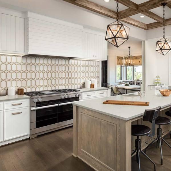 5 Stunning Backsplash Designs For Your Kitchen and Beyond