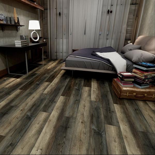 Vinyl Tile Flooring in the Bedroom