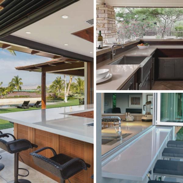 outdoor quartz countertops