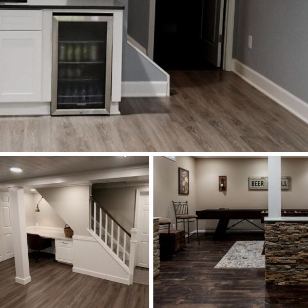 Is Luxury Vinyl Tile A Good Choice For, Vinyl Plank Flooring Basement
