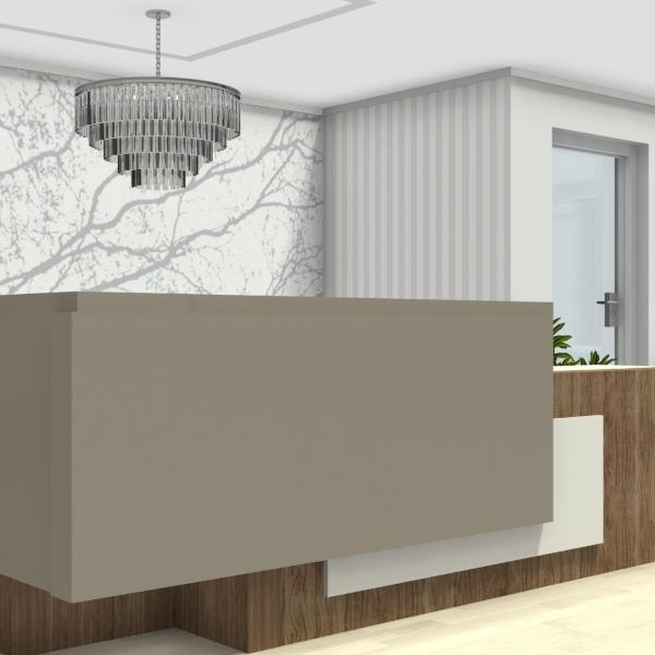 mystic gray quartz countertop reception counter