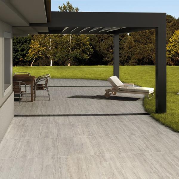 porcelain panel paver for sunny porch