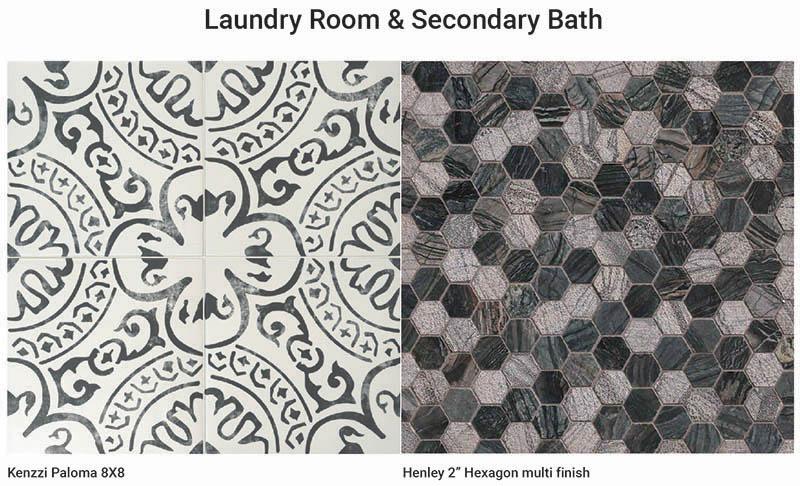 Laundry Room & Secondary Bathroom