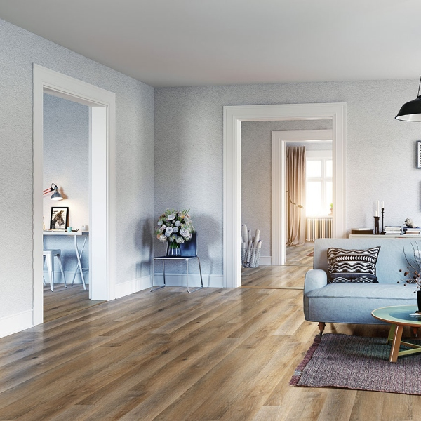 Maracay Brown Luxury Vinyl Tile Flooring