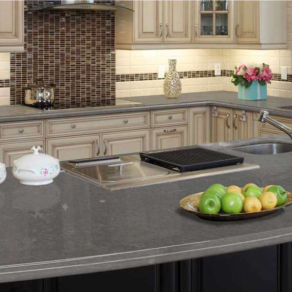 best concrete look quartz countertop