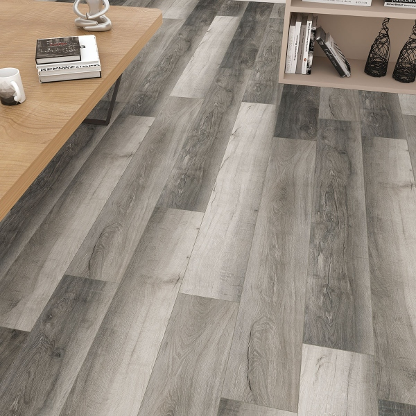 smokey wood look vinyl plank flooring