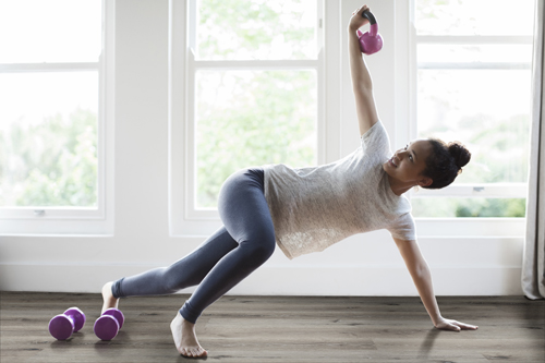 lvt flooring for home gym