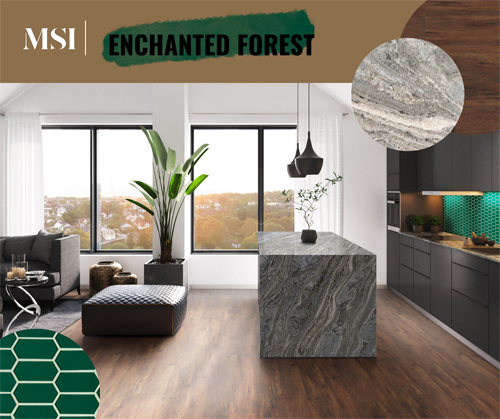 enchanted forest tile collection msi