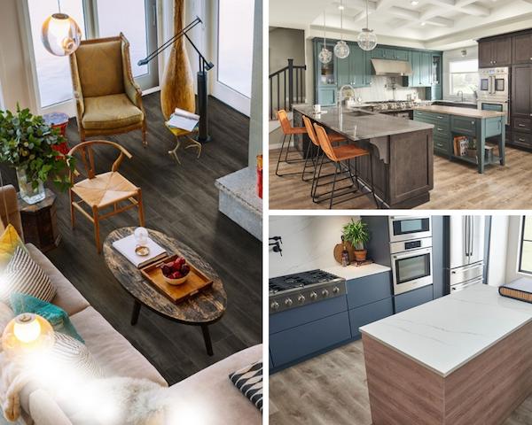 how to install luxury vinyl tile over hardwood floors