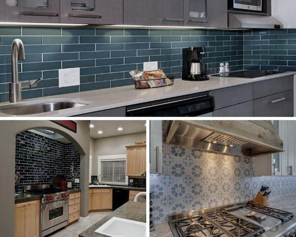 our top 10 bold and blue backsplash tiles