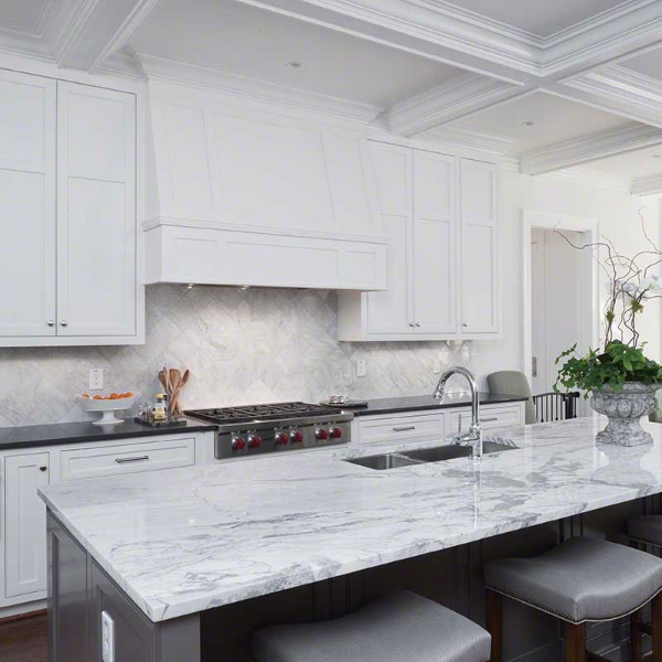 should i use granite or marble for my kitchen countertop