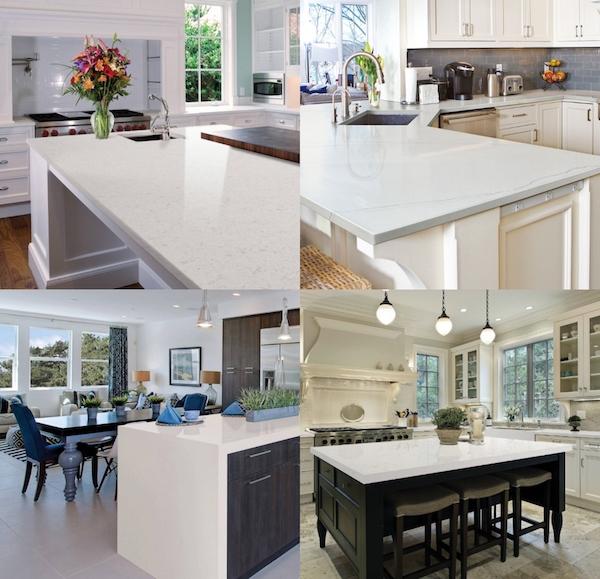 wonderful life with winter white quartz countertops