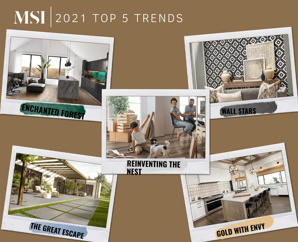 top 5 design trends of 2021