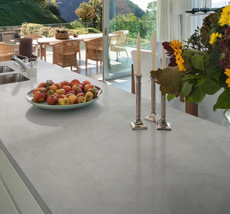 cement ash matte porcelain countertop