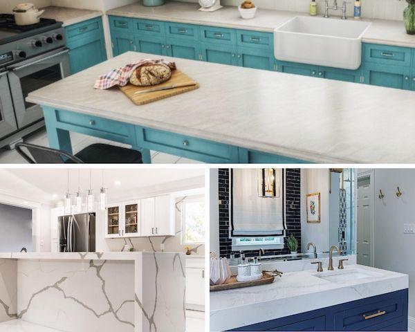 the best quartz countertop edge options for 2021