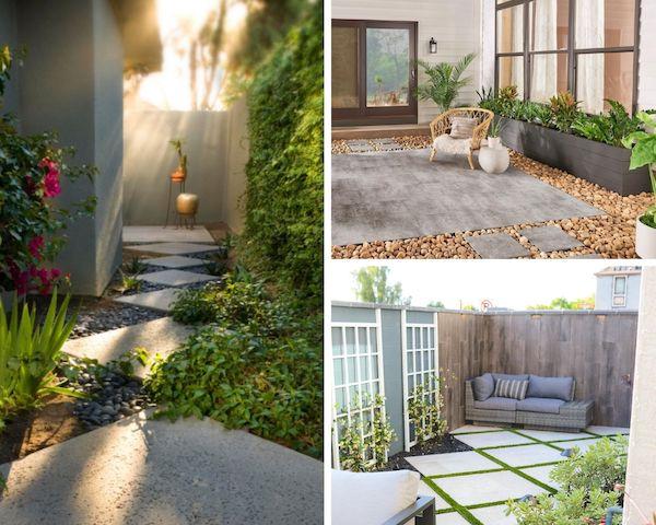 5 garden rock ideas for small spaces