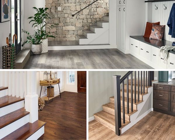 can you put luxury vinyl tile on stairs