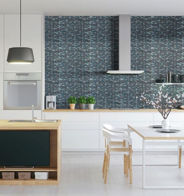 5 reasons why kitchen designers love glass backsplash tile