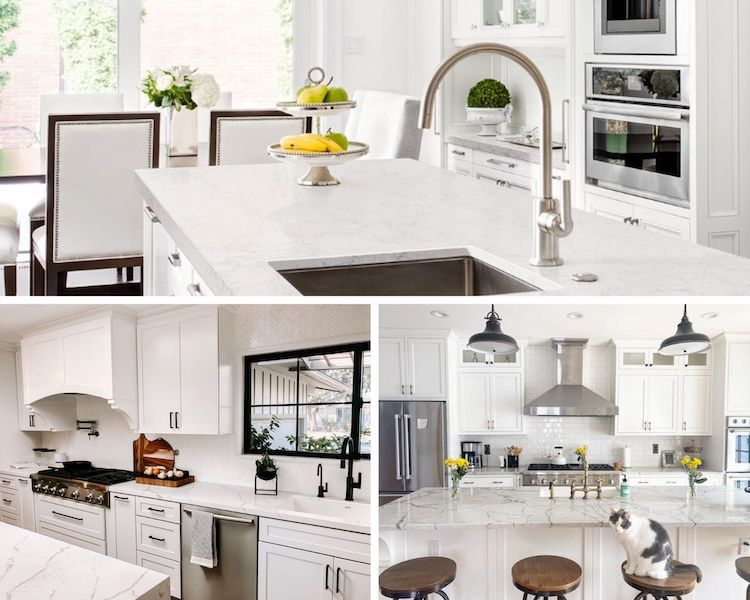 which marble look quartz looks the most real