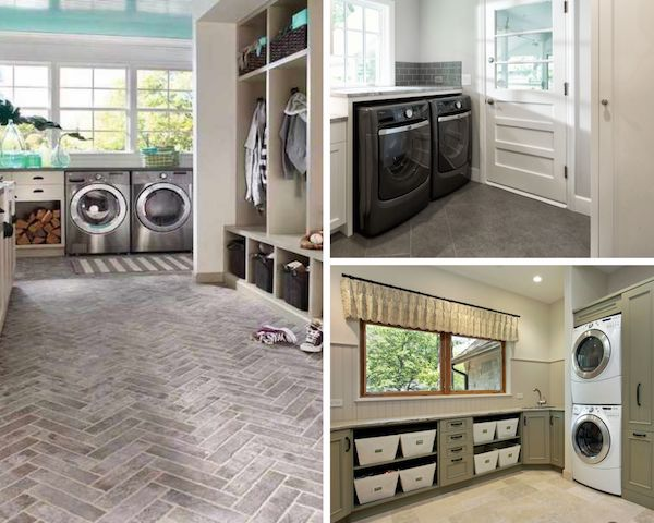 why porcelain tile is ideal for laundry rooms