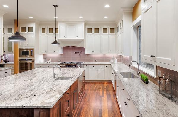 5 gorgeous granite countertop kitchen islands that wow