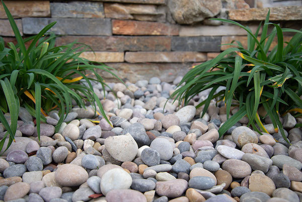 what size garden rock is best for which type of landscaping