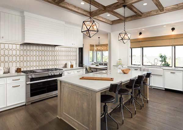royal link elegant gold and white kitchen