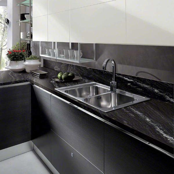 agatha black prefabricated granite countertop the best choice