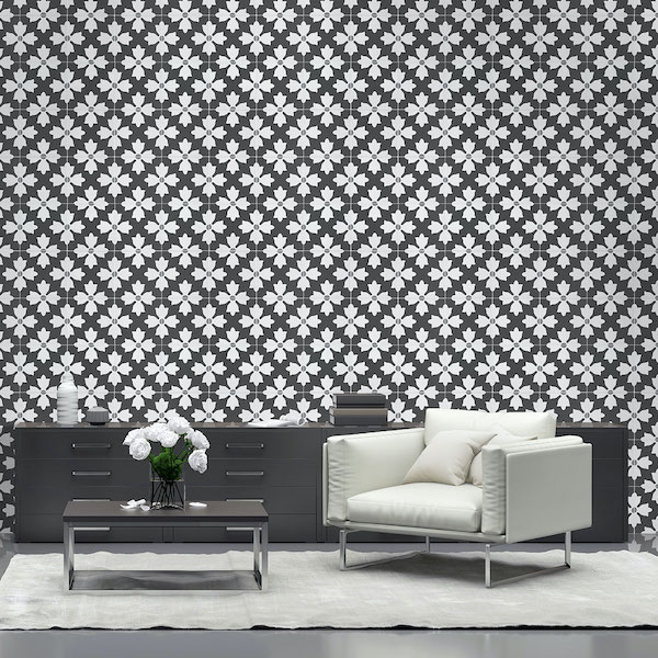 classic combination of fresh and alluring wall tile.