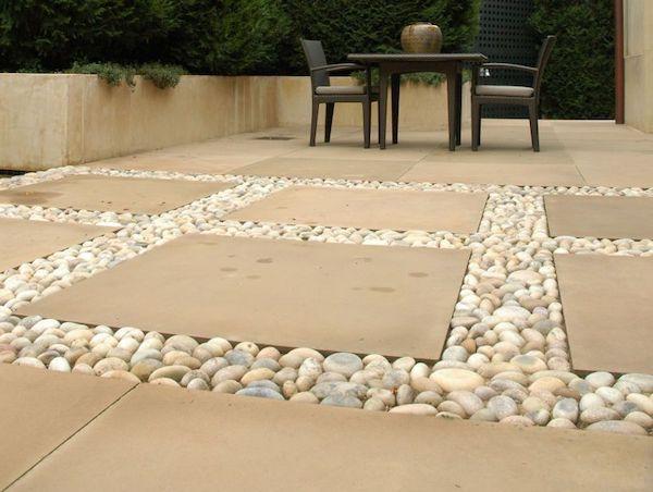 dorado tan beach pebbles