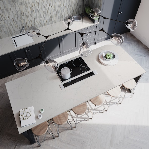 msi-citi-stax-griege-white-warm-glass-backsplash-tile-in-modern-grey-kitchen