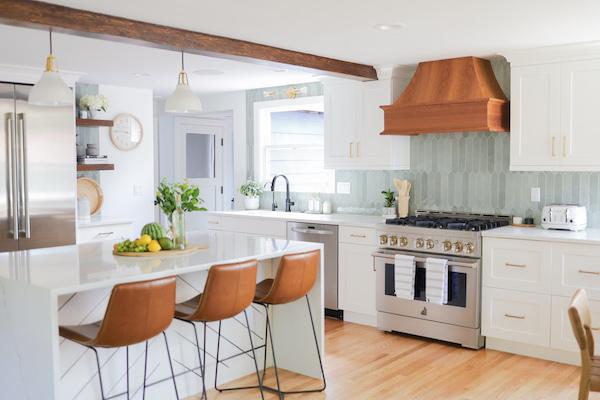 Designing a light, bright kitchen with sunday house interior design studio