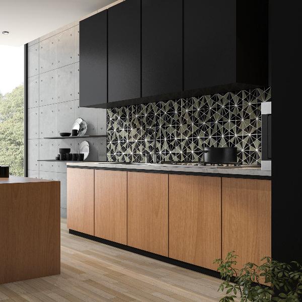 msi-stella-metalica-handscrafted-glass-mosaic-kitchen-backsplash-with-black-cabinets