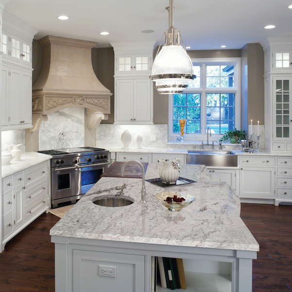 7 white granite countertops for a modern look