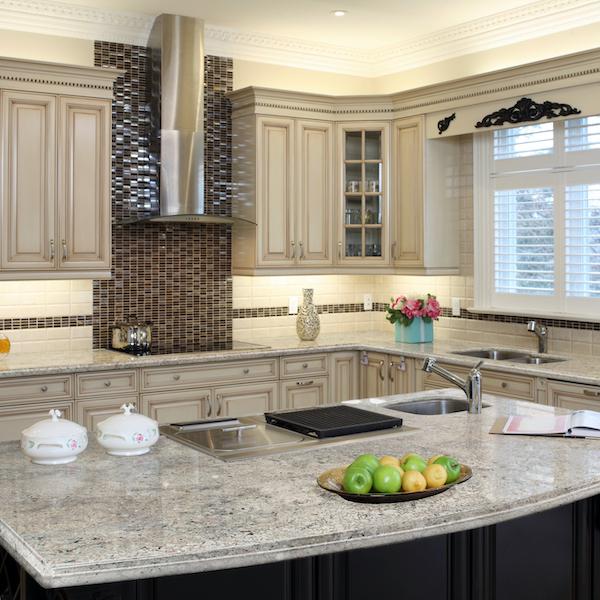 msi-bianco-granite-kitchen-counter-with-cream-colored-cabinets