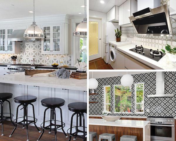 on-trend backsplash tile to create an enviable kitchen backsplash