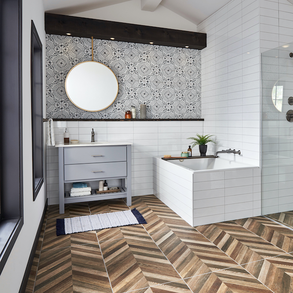 msi-paloma-black-and-white-encaustic-bathroom-tile-in-white-bathroom