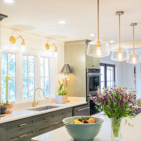 msi-carrara-marmi-quartz-marble-look-thin-slab-counter-with-green-cabinets