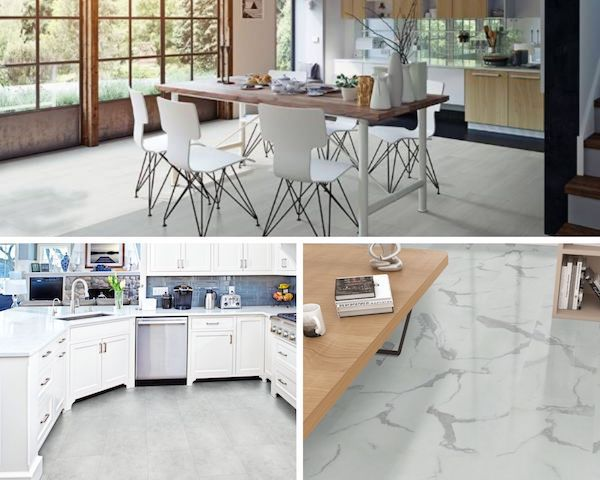 trecento luxury vinyl tile: affordable and durable natural stone look