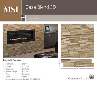 Casa Blend 3D