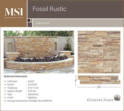 Fossil Rustic