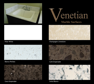 Venetian Marble Countertops Engineered Marble Slabs