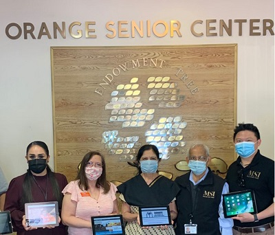 donated refurbished ipads for senior citizens