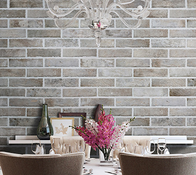 Brickstone Mosaic Tile Backsplash
