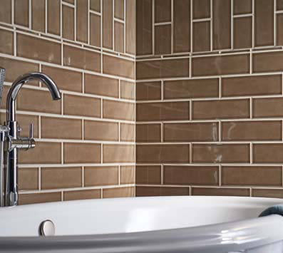 Highland Park<sup>®</sup> Mosaic Tile Backsplash
