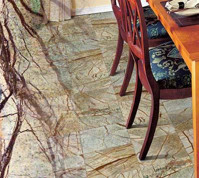 Rain Forest Mosaic Tile Backsplash