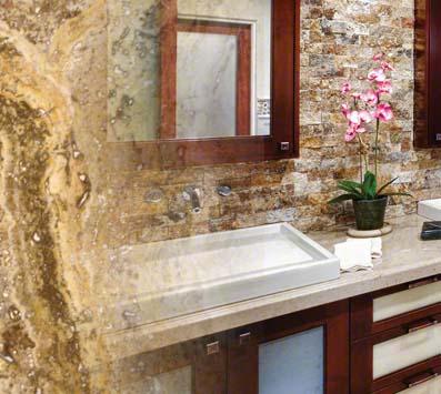 Tuscany Scabas Mosaic Tile Backsplash